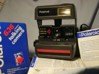 '                     636 BOXED-MINT-UNUSED+FILM ' Polaroid Taliking 636 Camera Boxed -MINT- £59.99